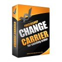 Change carrier, shipping cost and weight for an existing order