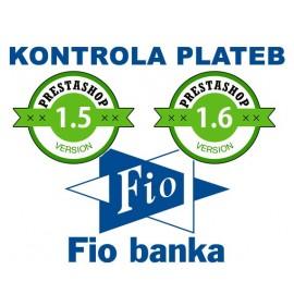 Fio banka modul na kontrolu a párování plateb s více účty